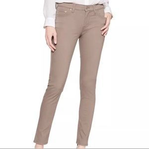 BR Taupe Skinny Jeans